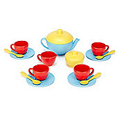 Green Toys Tea Set (Blue Teapot)