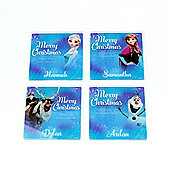 Frozen Personalised Christmas Coaster (Single)