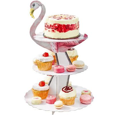 Flamingo Cupcake Stand