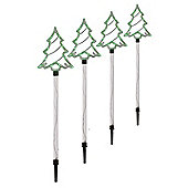Pack of 4 Tree Pathfinder Stake Lights