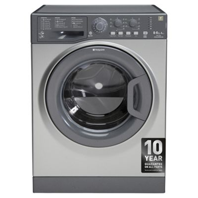 Hotpoint WDAL8640G Aquarius 8KG Washer Dryer - Silver Graphite