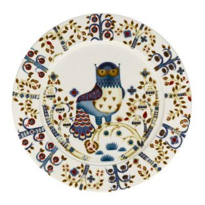 Iittala Taika Porcelain Dinner Plate in White