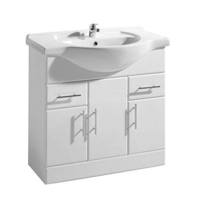 Swell Buy Premier Basin Vanity Unit 850Mm Wide Including Basin Home Interior And Landscaping Pimpapssignezvosmurscom