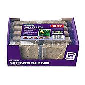 Gardman Suet Feast - 10 Pack