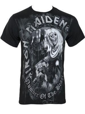 Iron Maiden NOTB Grey Tone Men's T-shirt, Black.
