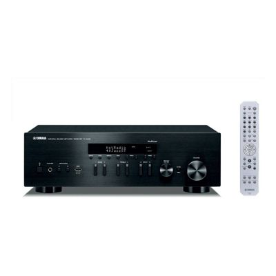 Yamaha RN402BLB Hi-Fi Network Receiver with 100W Power & 40 FM/AM Stations in Black
