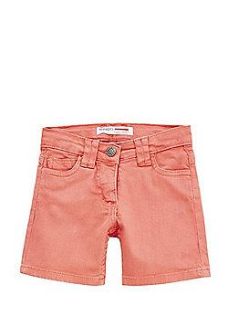 Minoti Twill Shorts - Coral