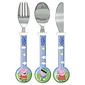 Peppa Pig & George 3 Piece Cutlery