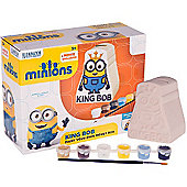 Minions Paint Your Own King Bob Money Box