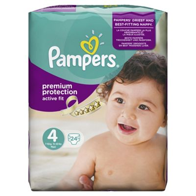 Pampers Active Fit Size 4 Carry Pack - 24 nappies