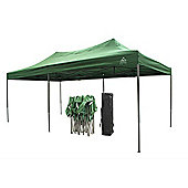 All Seasons Gazebos, Heavy Duty, Fully Waterproof, 3m x 6m Pop Up Gazebo in Green