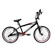 "Zombie Rage BMX Bike 20"" Wheel Black/Red"