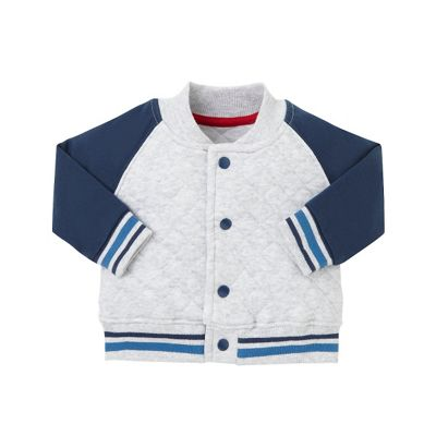 Buy B Baby Unisex Quilted Baseball Jacket Size 9-12 months from ...