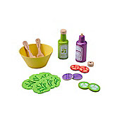 EverEarth Wooden Toy Salad Dining Set