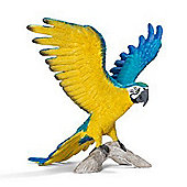 Schleich Blue-and-yellow Macaw 14690