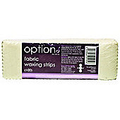 Hive Options Fabric Waxing Strips (100 Per Pack)
