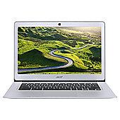 """Acer 14"""" Chromebook 14 Intel Celeron 2GB RAM 32GB eMMC Storage Silver"""