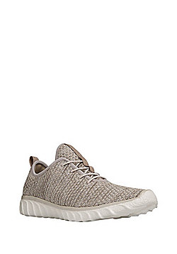 F&F Knitted Trainers - Stone
