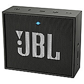 JBL Go Portable Rechargeable Bluetooth Speaker - Black