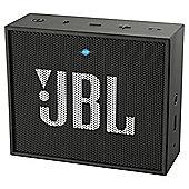 JBL Go Portable Rechargeable Bluetooth Speaker - Black
