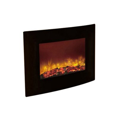 Quattro 2kW Wall Mounted Fire