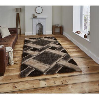 Noble House Tile Beige/Brown Rug - 120x170cm