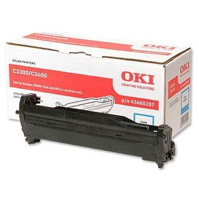 OKI Cyan Image Drum for C3300/C3400
