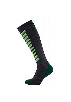 SealSkinz MTB Mid Knee Socks - Grey & Green