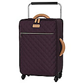 it luggage Tritex Quilted Small 4 Wheel Purple Suitcase