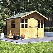 BillyOh Lollipop Junior Children's Wooden Playhouse, 6ft x 5ft