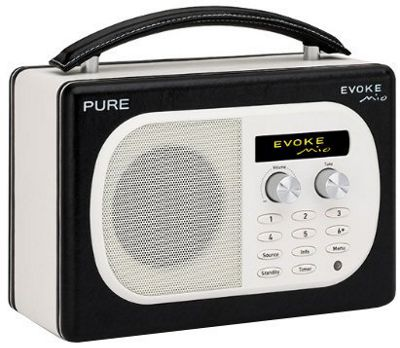 PURE EVOKE MIO DAB/FM RADIO (LAVA ORANGE)
