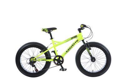 Coyote Ghetto 20 Inch Wheel Yellow Kids Bike