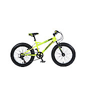 Coyote Ghetto 20 Inch Wheel Yellow Kids Bike