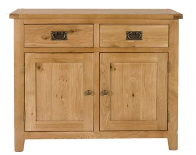Elements Brunswick Dining Two Door Sideboard in Warm Lacquer