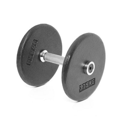 Body Power Pro-style Dumbbells 7.5kg (x2)