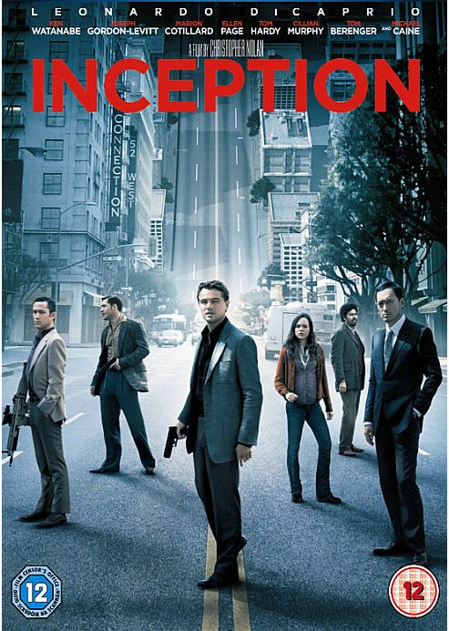 Inception DVD - 1 Disc