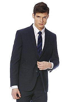 F&F Slim Fit Suit Jacket - Navy