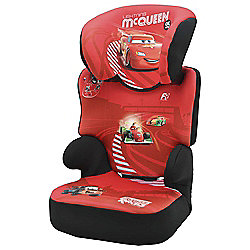 disney cars befix high back booster car seat without harness group 2 3