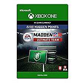 Madden NFL 18: MUT 2200 Madden Points Pack (Digital Download Code)