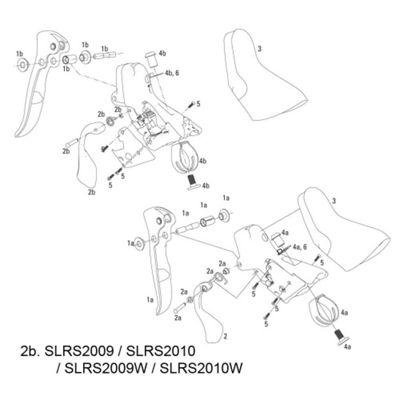 SRAM Shift Lever Assy Kit Apex/Rival 09-11 Left