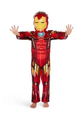 Marvel Avengers Iron Man Light-Up Dress-Up Costume Red 9-10 years