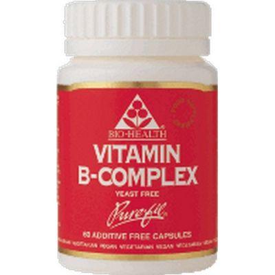 Bio Health Vitamin B Complex Yeast-Free 60 Capsules