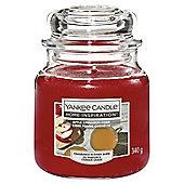 Yankee Medium Jar Apple Cider Cinnamon
