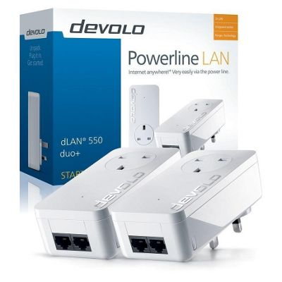 Devolo dLAN 550 duo+ Powerline