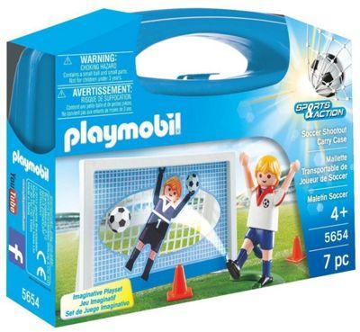 Playmobil Soccer Shootout Carry Case Playset