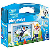 Playmobil Soccer Shootout Carry Case Playset