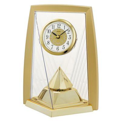 Seiko QXN231G One Way Rotating Pendulam Analogue Clock│Battery Operated│Gold