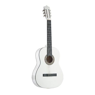 Stagg C542 Full Size Classical Spanish Guitar - White
