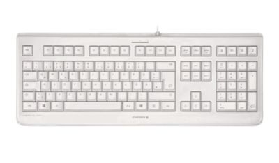 Cherry KC 1068 Wired USB Keyboard - Pale Grey
