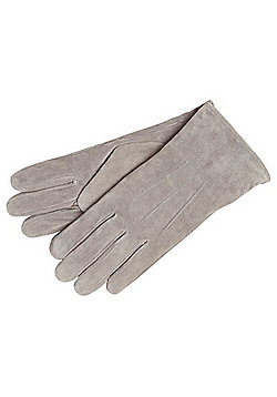 "F&F Signature Suede Gloves with Thinsulate""™ - Grey"
